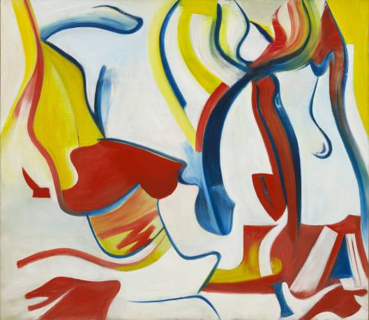 25-Willem-de-Kooning-Rider-Untitled-VII-1985